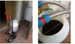 lavaggio degli impianti termici